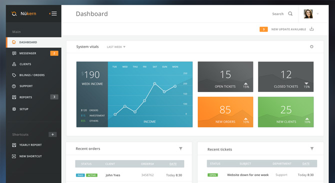 free-dashboard-ui-html-design
