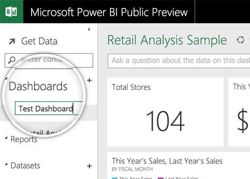 Microsoft Power BI Dashboard Creation